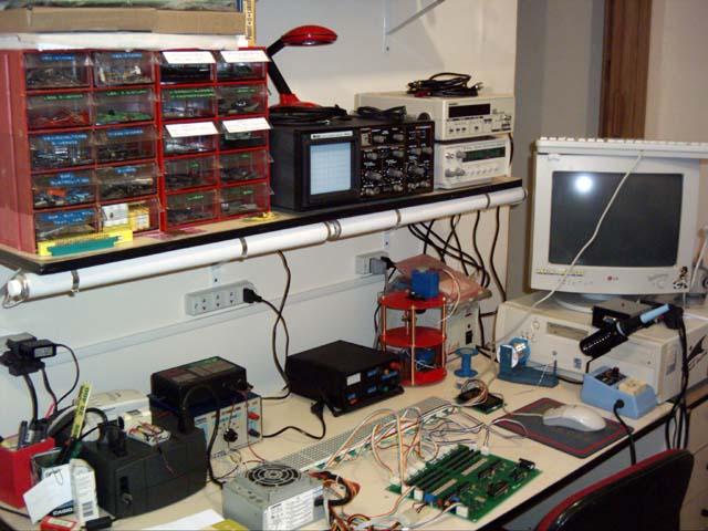 Equipamentos de segurança em laboratorio